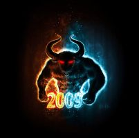 2009 year of the Ox by krolone