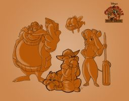 Chip n' Dale JAM by NakedHotdog