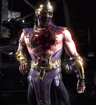 MKX - Rain's bloody chest by MK-Rainplz