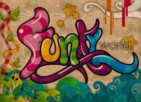 Funky World by Creatunco