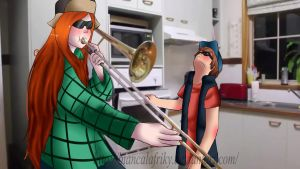 When Stan isn't home by BiancalaFriky