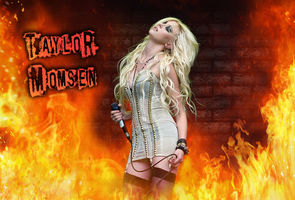 Taylor Momsen Wallpaper by AlleyCat666