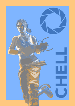 Aperture's Chell by JaKhris