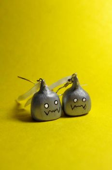 Alphonse Elric - Earrings by Magicant01