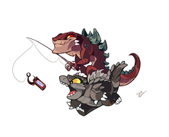 Zilla Jr used snickers by fcaiser
