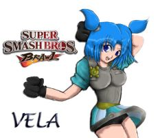VELA FOR SMASH BROTHERS by MikaRabidKitsune