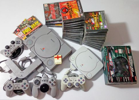 Playstation collection. by GrimShady