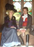 1789 traveling outfit by Lisette-la-cousette