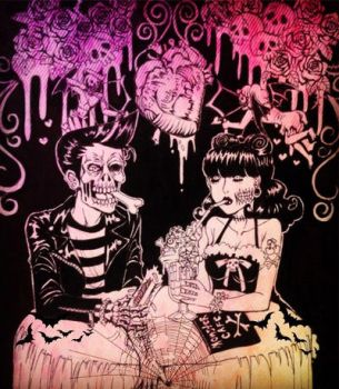 Psychobilly romance  by mariamary66