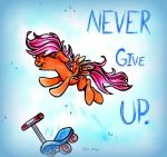 Never Give Up by frostykat13
