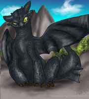 """""""Toofwess"""" -Toothless by Dragon-Wolf997"""