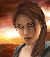 Tomb Raider Legend Cover by Sarkany86
