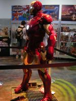 Iron Man Statue by EvolCarling