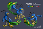 [Big Swan] Ref 2016 - Peatail by JemiDove