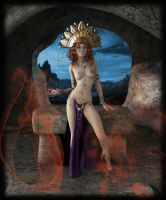 Priestess II by LillithI