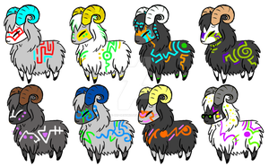 Glow Sheep by 207-Designs