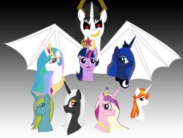 TAA - The Alicorns. by FrostQuill