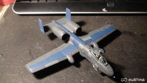 Revell A-10 Thunderbolt No. 1 by MU5T4N6