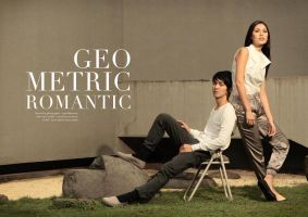GEOMETRIC ROMANTIC by JanedAduh