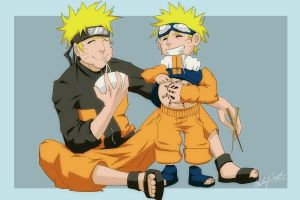 2 Naruto Ramen by happyzuko