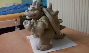 Bowser sculpt. - still WIP by fb1907