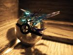 The Pokeball of The Black Rock Shooter by wazzy88