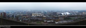 Newcastle from the 13th floor by Punt1971