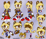 Ottawa the Otter Reference and Bio by SailorMoonAndSonicX