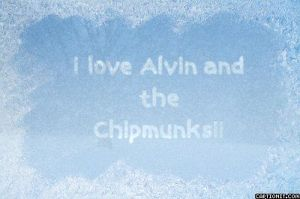 I love Alvin and the Chipmunks by iLikeChipmunks