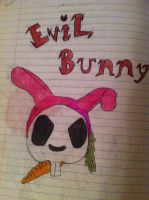 Evil Bunny by Labrinth63