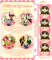 Commission Sheet 2014 (Currently Closed) by TheCupcake-Queen