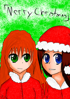 Merry Christmas to All Otakus [OLD ART] by SayomiWolf