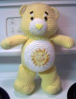 Crochet Sunshine Bear by JLMacDonald