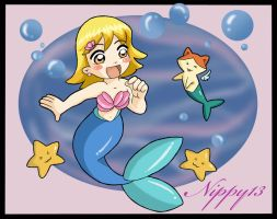 Macurris as The Little Mermaid by Nippy13