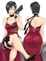 Ada Wong -color- by Radprofile