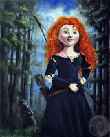 Merida from Brave by NickMears
