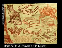 Brush Set 41 - Leftovers 2 by punksafetypin