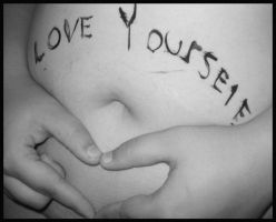Love Yourself. by xCrimsonRegretx