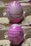 Cheshire Cat Easter Egg by Buri288