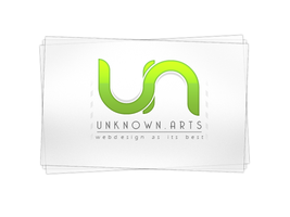 unkown.arts Logotype by xfragg3r