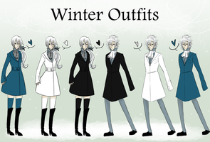 Winter Outfits by FrizzChan