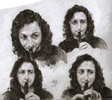 Concerto for flute and skype by zeldis