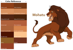 TLK Mohatu Color Reference by FeralHeartsFan