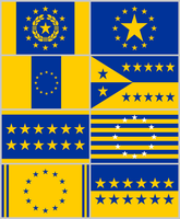EU Flags by DWebArt