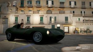 Forza Horizon 2 - Jaguar D - Type by deathmachine630