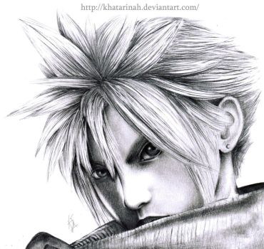Soldier Cloud Strife To MFRS by Khatarinah