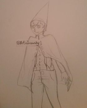 Over the Garden Wall: Wirt sketch by ArtisInsanity