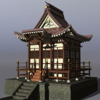 Japanese Architecture by xmas-kitty