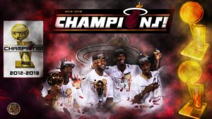 Miami Heat. 2012-2013 NBA champion by PJosull
