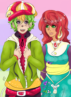 Flynn and Miserere : Ichitoko by LittlesFuntime